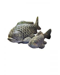 (P-FISH04-025AF) Koi, Steinguss