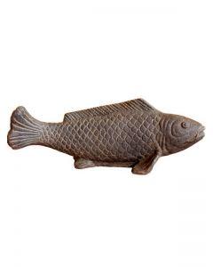 (P-FISH-040AF) Fisch auf Sockel, Steinguss