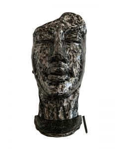 Gesicht Metall, schwarz